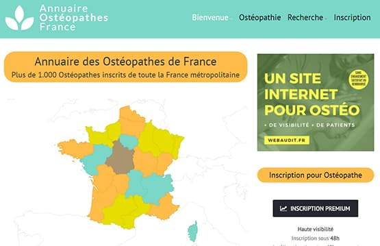 Répertoire des ostéopathes en France